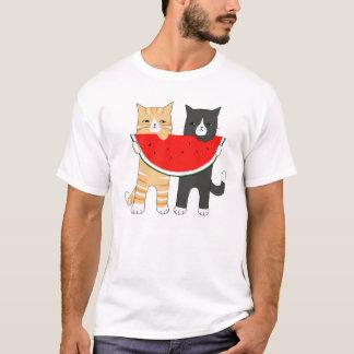 Camiseta gráfica animal de los gatos del