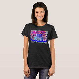 Camiseta gráfica de la suciedad gomosa