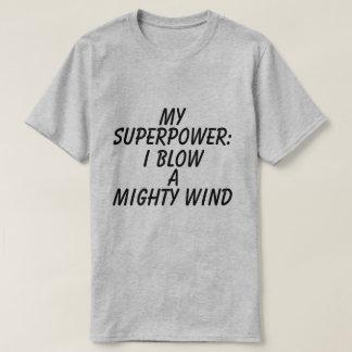 Camiseta gráfica de la superpotencia de los