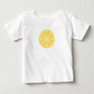 Camiseta gráfica del bebé del limón
