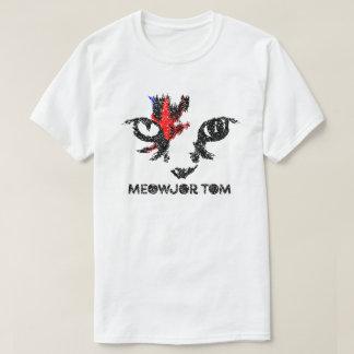 """Camiseta gráfica del gato de """"Meowjor Tom"""""""