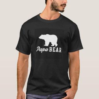 Camiseta gráfica del oso de la papá
