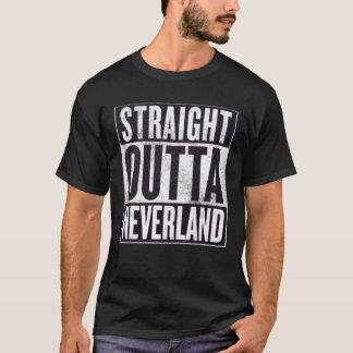 Camiseta gráfica divertida recta de Outta