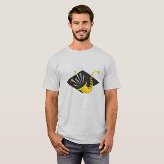 Camiseta Gráfico agudo del saxofón del jazz
