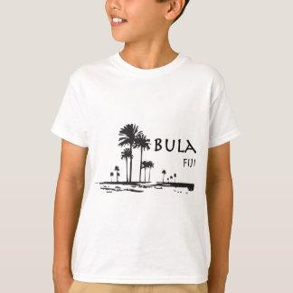 Camiseta Gráfico de la palmera de Bula Fiji