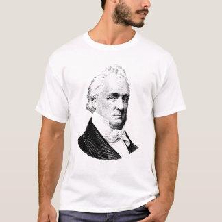 Camiseta Gráfico de presidente James Buchanan