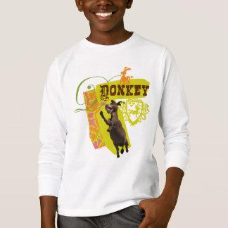 Camiseta Gráfico del burro