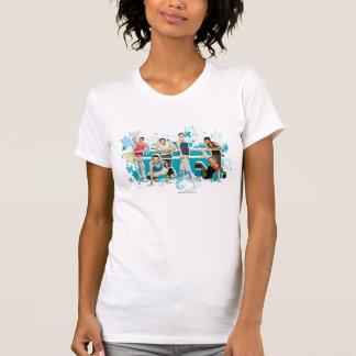Camiseta Gráfico del molde de la academia de la danza
