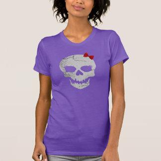 Camiseta Gráfico femenino T del cráneo