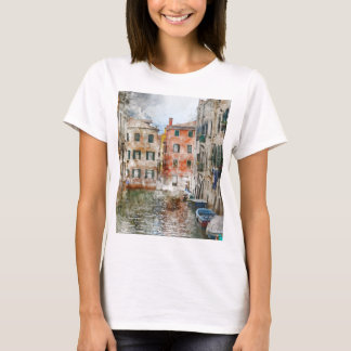 Camiseta Gran Canal romántico de Venecia Italia