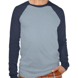 Camiseta Grande Con Mangas Largas De Raglan