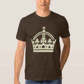 camiseta grande de la corona