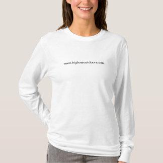 Camiseta grande del faisán del arco