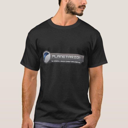 Camiseta grande del logotipo de Planetarion