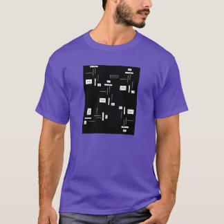 camiseta grande y alta de va-CA para él por el DAL