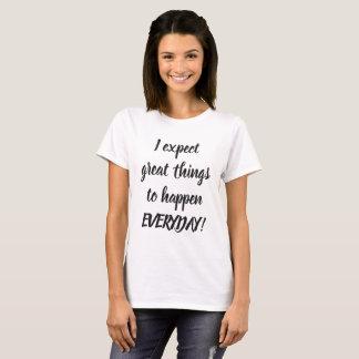 Camiseta Grandes citas blancos y negros