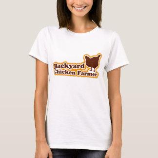 Camiseta Granjero del pollo del patio trasero