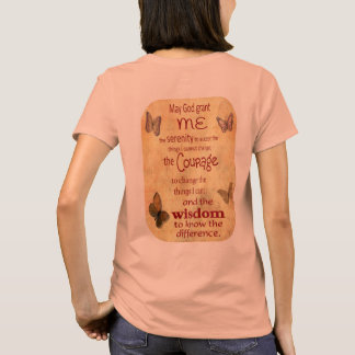 Camiseta Grant yo serenidad - rezo de la serenidad - el T