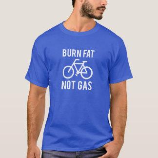 Camiseta grasa de la quemadura, no gas
