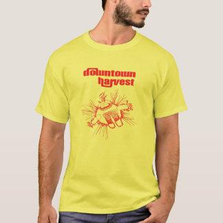 Camiseta grasa de la salsa de tomate y de la