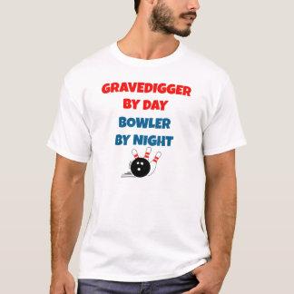 Camiseta Gravedigger por el jugador de bolos del día por