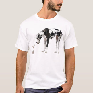 Camiseta Great dane y chihuahua