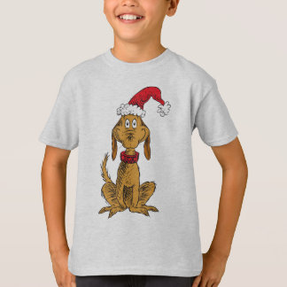 Camiseta Grinch clásico el | máximo - gorra de Santa