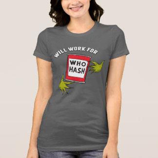 Camiseta Grinch clásico el | trabajará para quién hachís