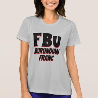 Camiseta Gris burundés del franco de FBu