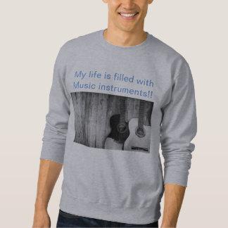 Camiseta gris clara de moda del sudor   de la