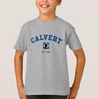 Camiseta gris de Calvert de los niños