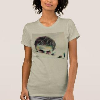 "Camiseta Gris de la camiseta, ""boy"