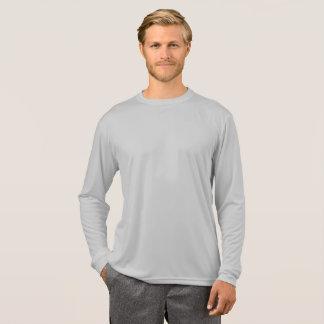 Camiseta gris de la tortuga de Longsleeve