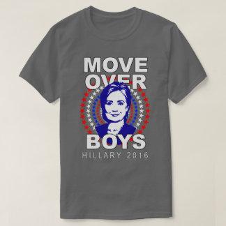 Camiseta gris de los muchachos de Hillary Clinton