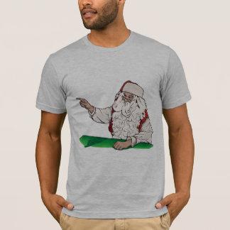 Camiseta Gris del brezo del navidad