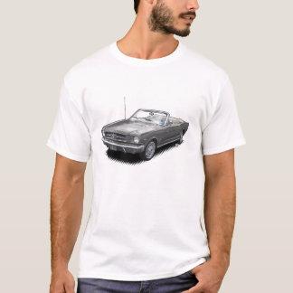 Camiseta gris del convertible del coche de potro