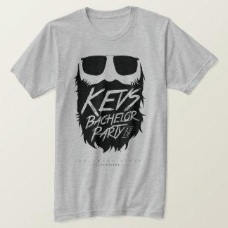 Camiseta Gris-Fantasma de la despedida de soltero de Kevs