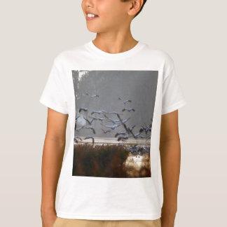 Camiseta Grúas del vuelo