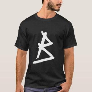 Camiseta Grunge con monograma
