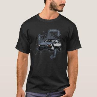 Camiseta Grunge de dos tonos