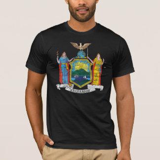 Camiseta Grunge de la bandera del Estado de Nuevo York