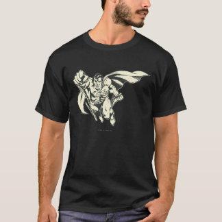 Camiseta Grunge del vuelo del superhombre