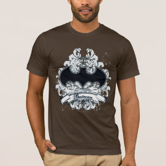 Camiseta Grunge urbano del vintage de Batman