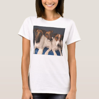 Camiseta grupo liso del fox terrier