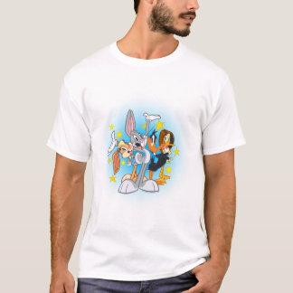 Camiseta Grupo Looney de la demostración de los tonos