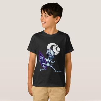 Camiseta Gsu Nir de alinea a personas que practica surf de