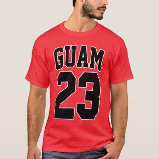 Camiseta GUAM FUNCIONA CON a la superestrella 23 del