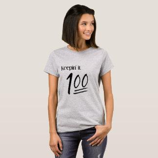 Camiseta Guardándolo 100