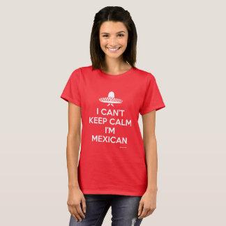 Camiseta Guarde al mexicano tranquilo