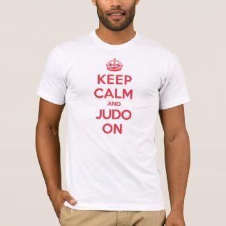 Camiseta Guarde el judo tranquilo
